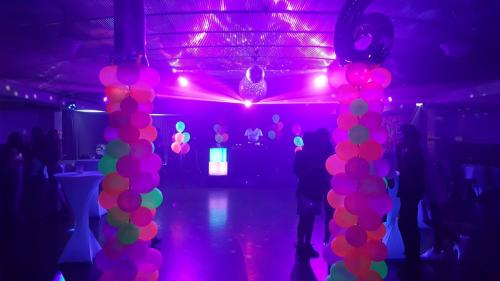 Party setup for Fluro, Neon Glowing party in Darwin