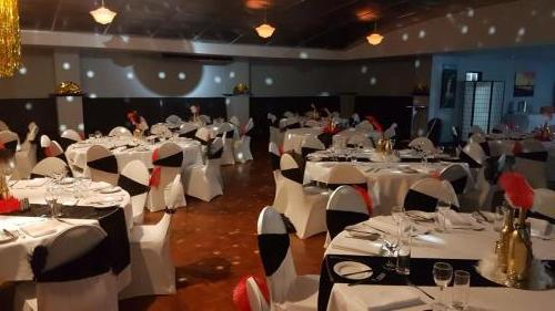 Gatsby Party at Darwin setup